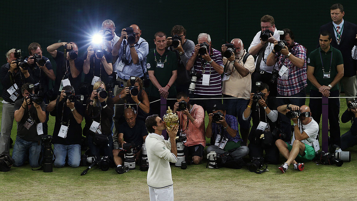 El da que Roger Federer volvi a ser nmero uno. (Foto: AP)