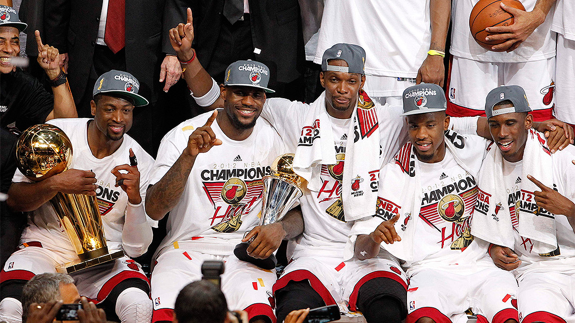 Aqu, los campeones de la NBA en la temporada 2011-12. (Foto: AP)