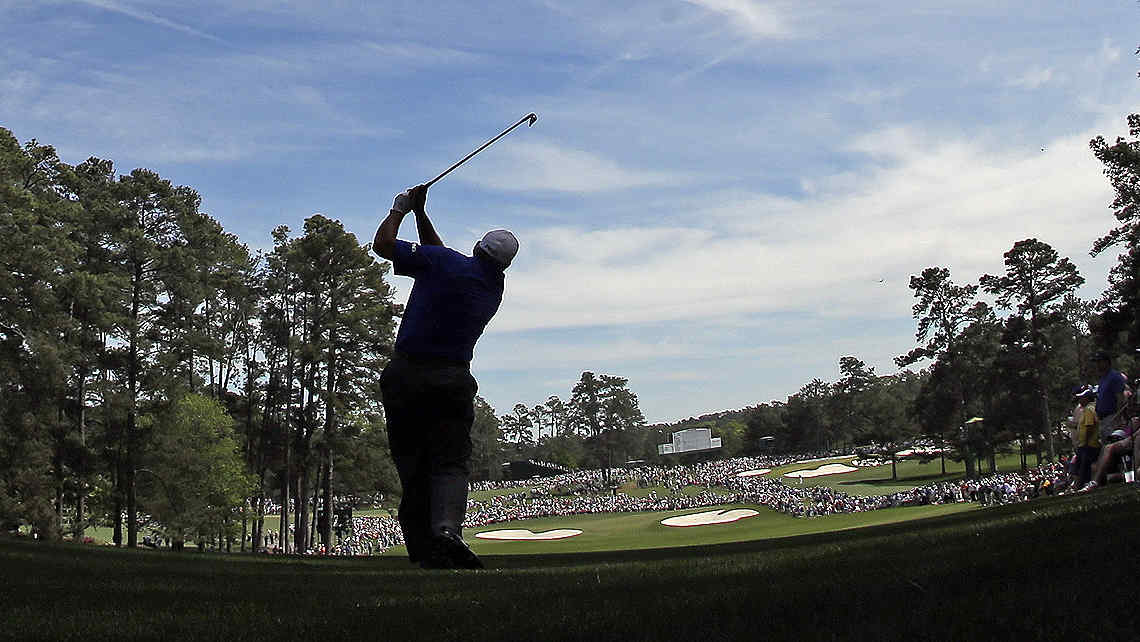 El Pato Cabrera es el lder del Masters de Augusta. (Foto: AP)