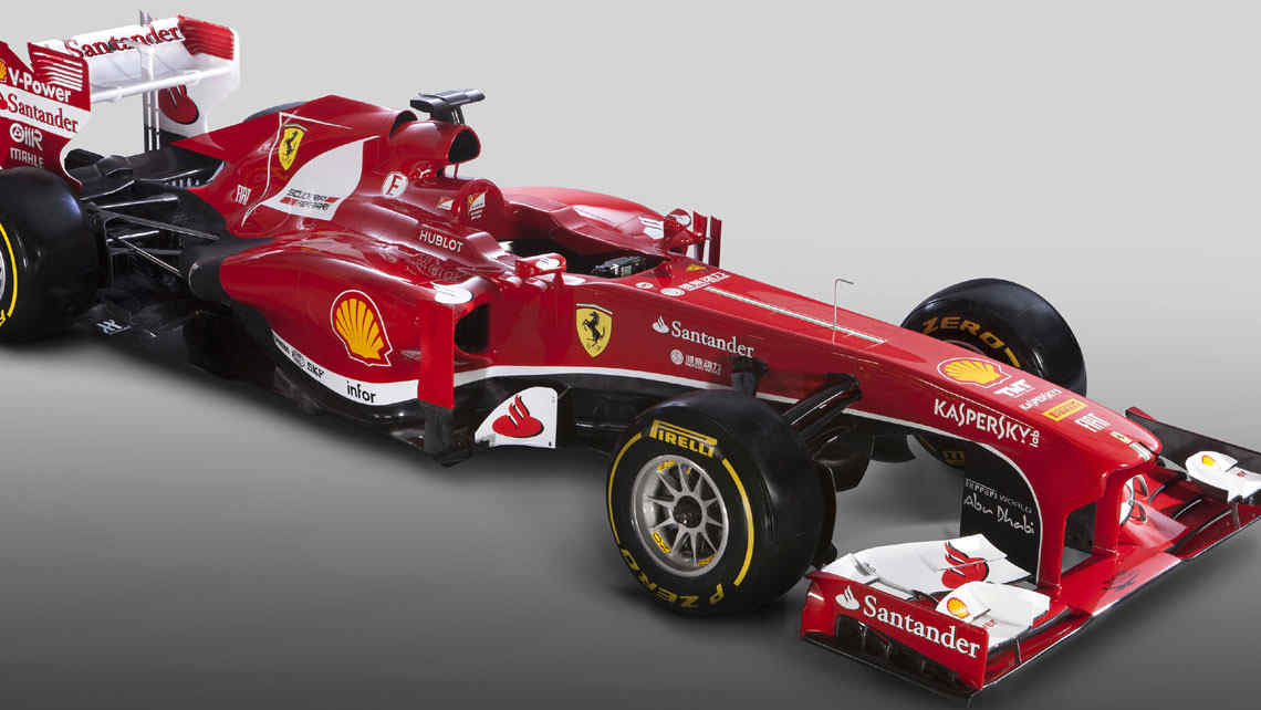 Se present la nueva Ferrari: la F138.