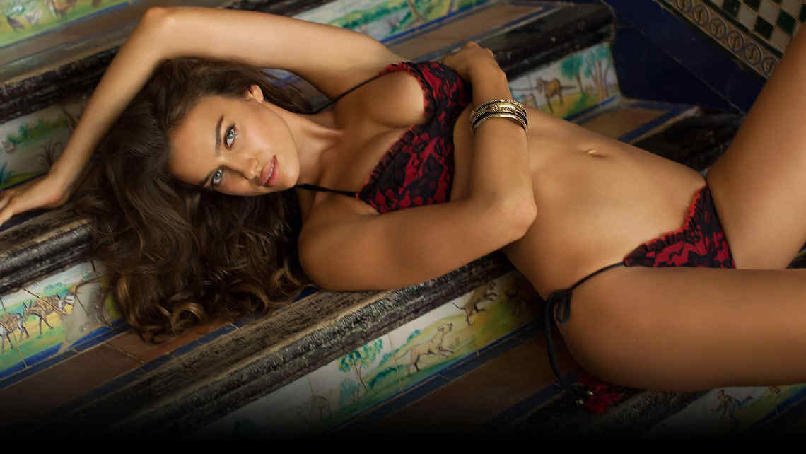 La espectacular Irina Shayk, en Sport Illustrated.