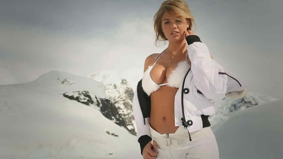 Kate Upton, en la nueva producción de Sports Illustrated.