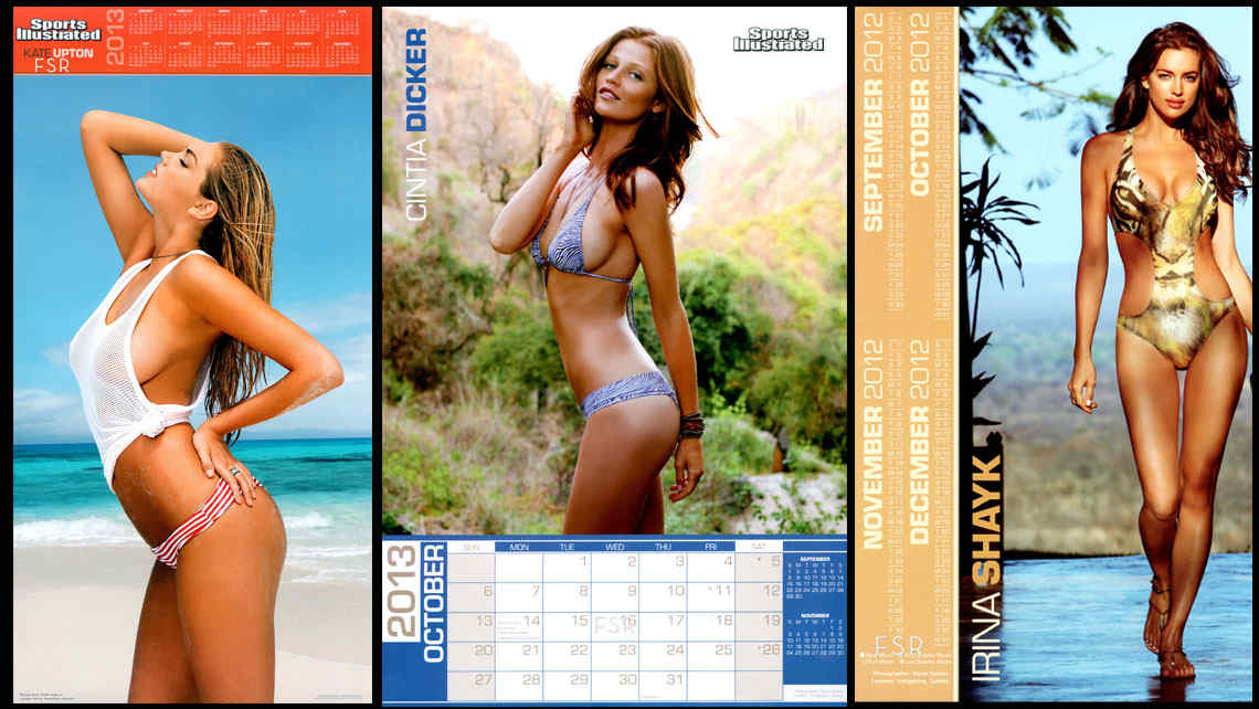 Las chicas de Sport Illustrated tienen ya su versin en el calendario 2013.