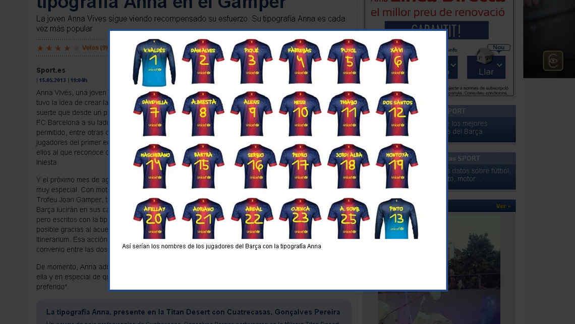 De 1 Asi Luciran Las Camisetas Del Barcelona Captura Diario Sport