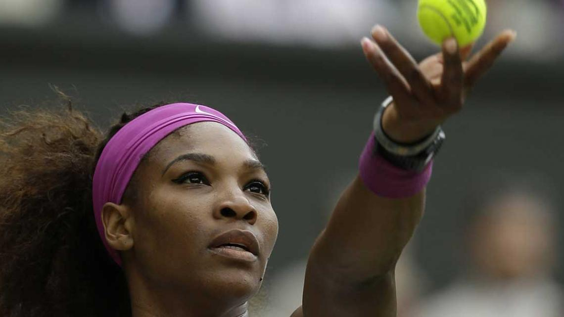 Serena le gan a Agnieszka Radwanska y se qued con su quinto Wimbledon (Foto: AP).