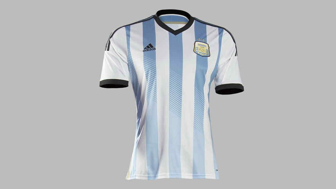 Las 32 camisetas del Mundial Brasil 2014