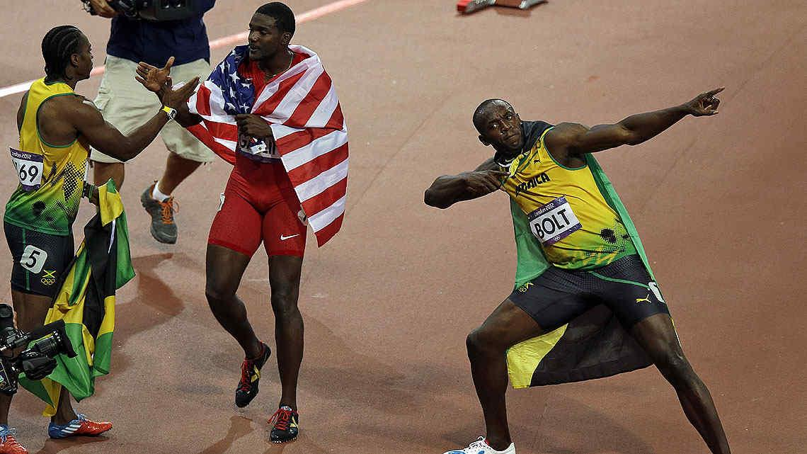 Usain Bolt deslumbr al mundo y volvi a ganar los 100 metros. (Foto: AP)