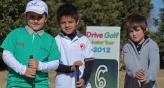 Los infantiles volvieron a disfrutar de un da de sol y golf. (Foto: Mundo D)