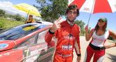 Juan Marchetto est cerando un gran ao al consagrarse subcampen del Rally.