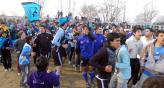 Ante 2.300 personas, Sportivo Belgrano se coron como el mejor. Almafuerte est feliz.