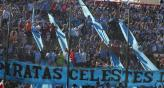 La hinchada de Belgrano despidi al equipo cantando y reconoci el esfuerzo de los jugadores (Foto: La Voz).