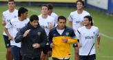 Riquelme intentar dar una mano en este complicado momento de Boca (Foto: Fotobaires).