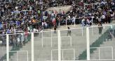 En setiembre de 2011, hubo un corralito para los barras, en el partido de Argentina ante Brasil (Foto: Sergio Cejas / Archivos).
