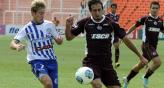 Lans fue ms que Godoy Cruz, y le gan por 1 a 0 (Foto: Tlam).