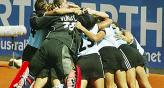 Las Leonas festejaron su primer ttulo en Australia. Antoniska fue enorme en los penales. (Foto: Ol)