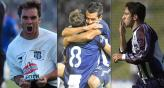 Borghello, Maxi Velasco y Rodrigo Astudillo, grandes goleadores de Talleres. 