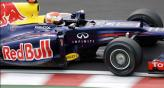 Vettel y el Red Bull marcaron el paso en el circuito de Suzuka (Foto: AP).