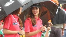 Las promotoras del Rally Argentina (Foto: Santiago Berioli / Especial para Mundo D).