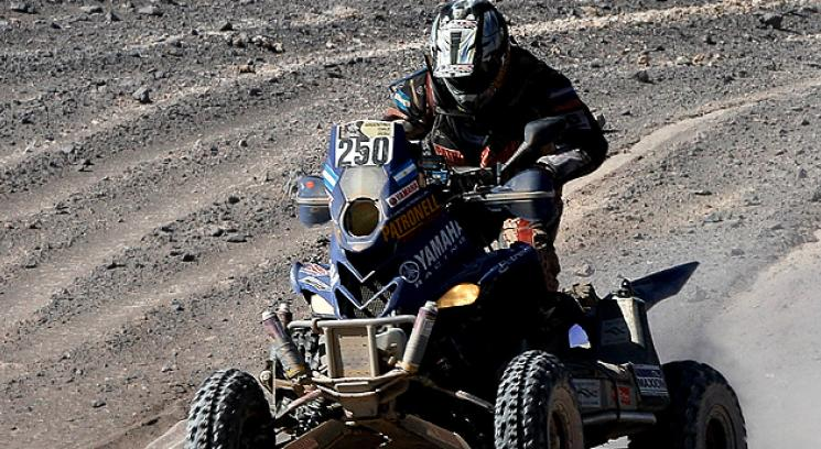 Alejandro Patronelli obtuvo el ttulo en el Dakar por segundo ao consecutivo. (Foto: AP)