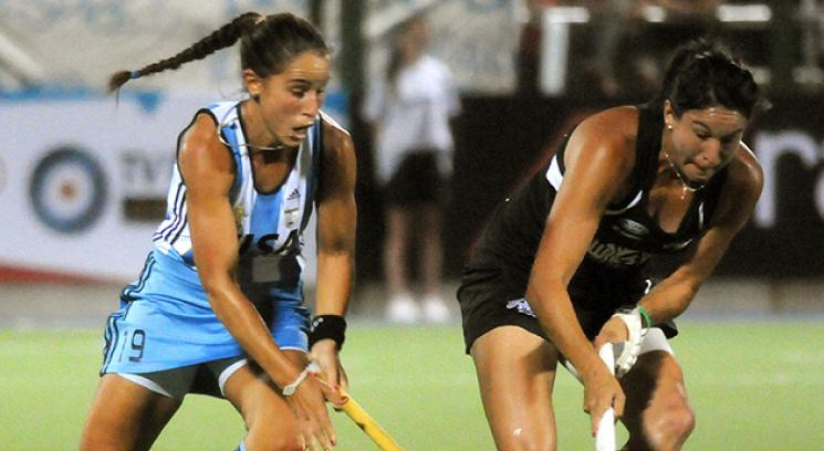 Arranc el Champions Trophy y Las Leonas rescataron un empate. (Foto: Tlam)
