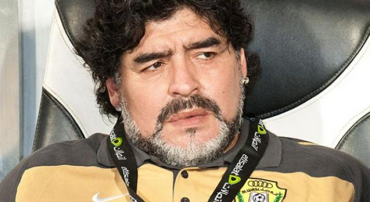 El Al Wasl de Maradona no pudo sostener la ventaja del partido de ida, y perdi la final de la Copa del Golfo ante el Al Muharraq de Bahrein. (Foto: AP)