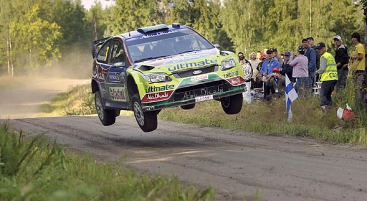 Hirvonen vol y se qued con la competencia en Finlandia.