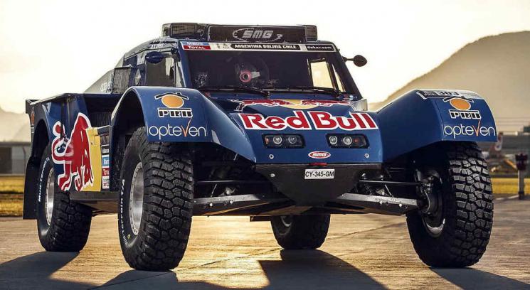 El espectacular buggy que Sainz utilizará en el próximo Dakar (Foto: Captura Web).