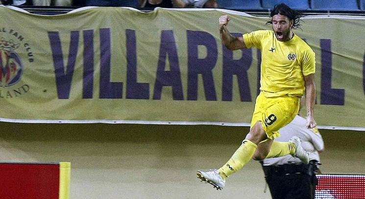 Cavenaghi arranc de la mejor manera. (Foto: www.villarrealcf.es)