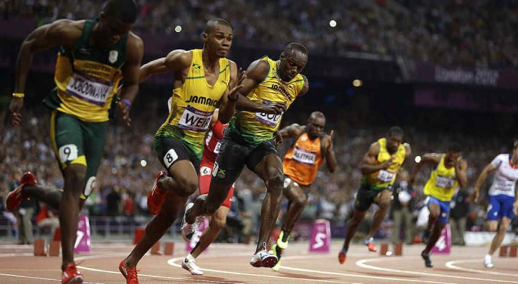 Bolt hace historia y tambin repite la medalla dorada en los 200 libres. (Foto: AP)