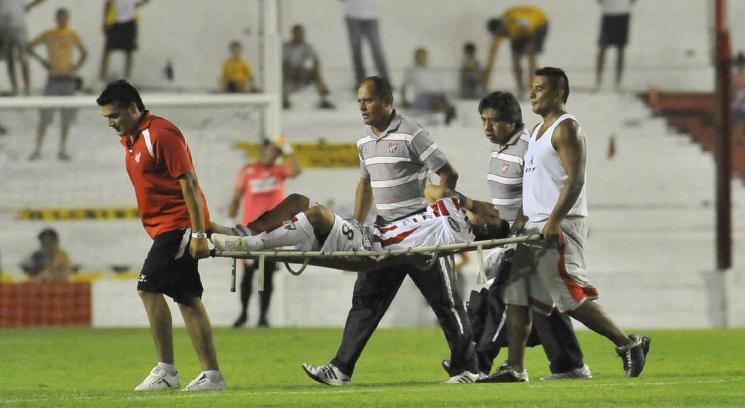 Instituto perdió un partido increíble ante Almirante Brown. (Foto: Sergio Cejas)