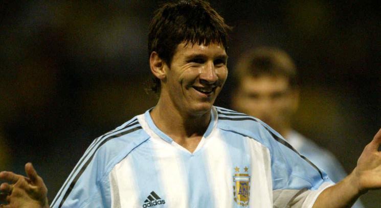 El dia que Messi se hizo Argentino