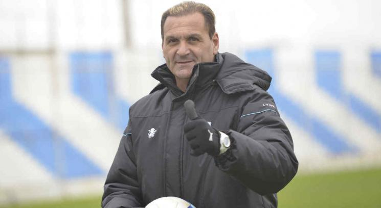 Islas armó el equipo que jugará el Argentino B y podría irse tras la primera fecha (Foto: Pedro Castillo).