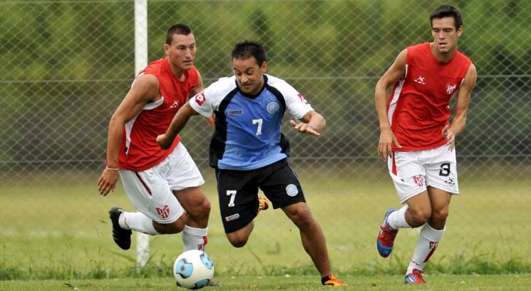 Pereyra anotó el gol del triunfo. (Foto: Sergio Ortega)