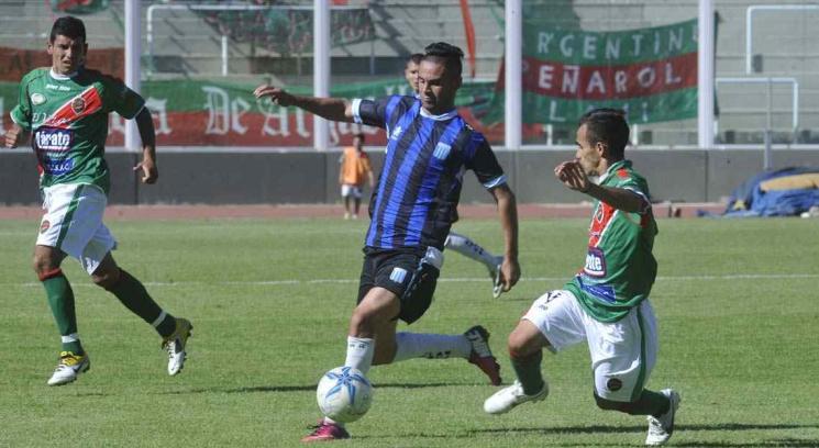 Racing fue más que Argentino Peñarol (Foto: Ramiro Pereyra).