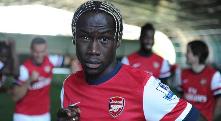 Sagna, del Arsenal.