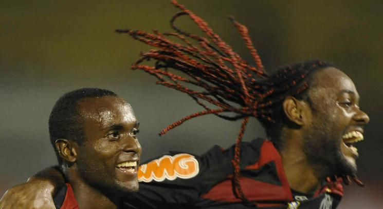 Vagner Love, del Flamengo.