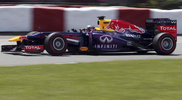 Vettel ganó en Canada y el Red Bull se mostró muy confiable (Foto: AP).